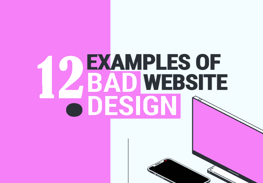 The 12 Bad Website Designs You Will See till Date