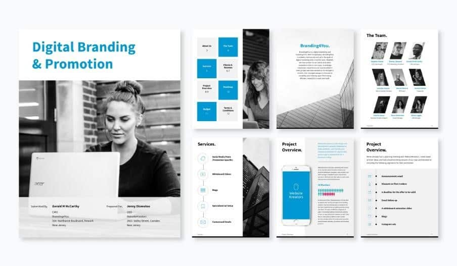The Web Design Proposal Template