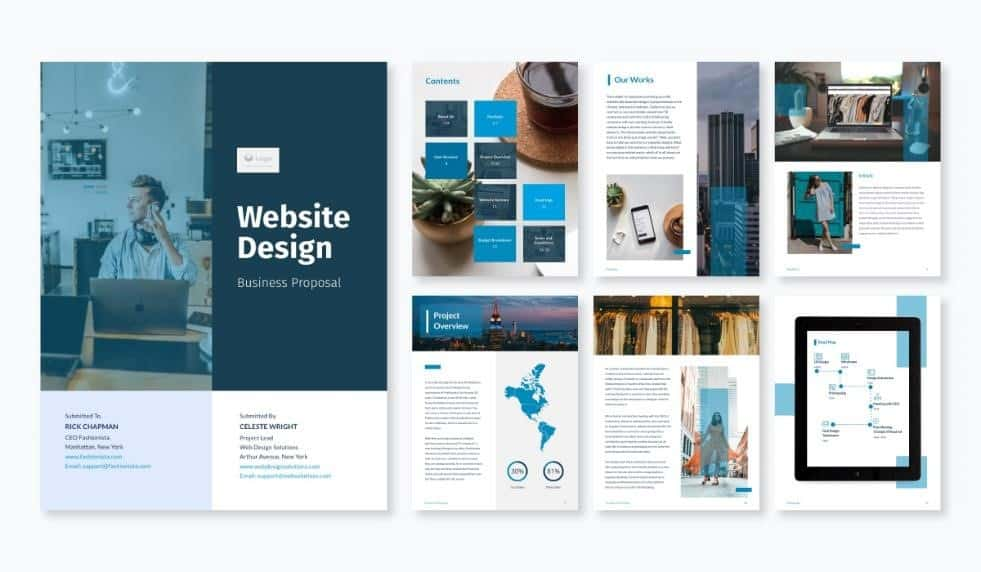 The 10 Best Website Proposals Templates In 2021