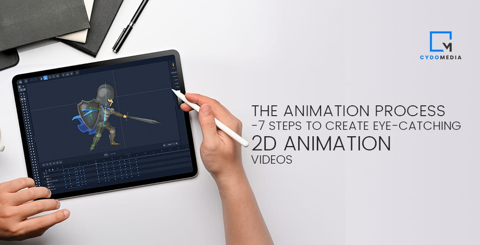The Animation Process | 7 Steps To Create Eye-catching 2D Animation Videos
