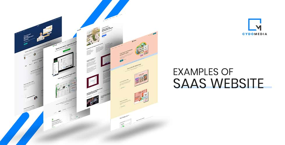 SaaS Websites | The 12 Best Examples for Inspiration